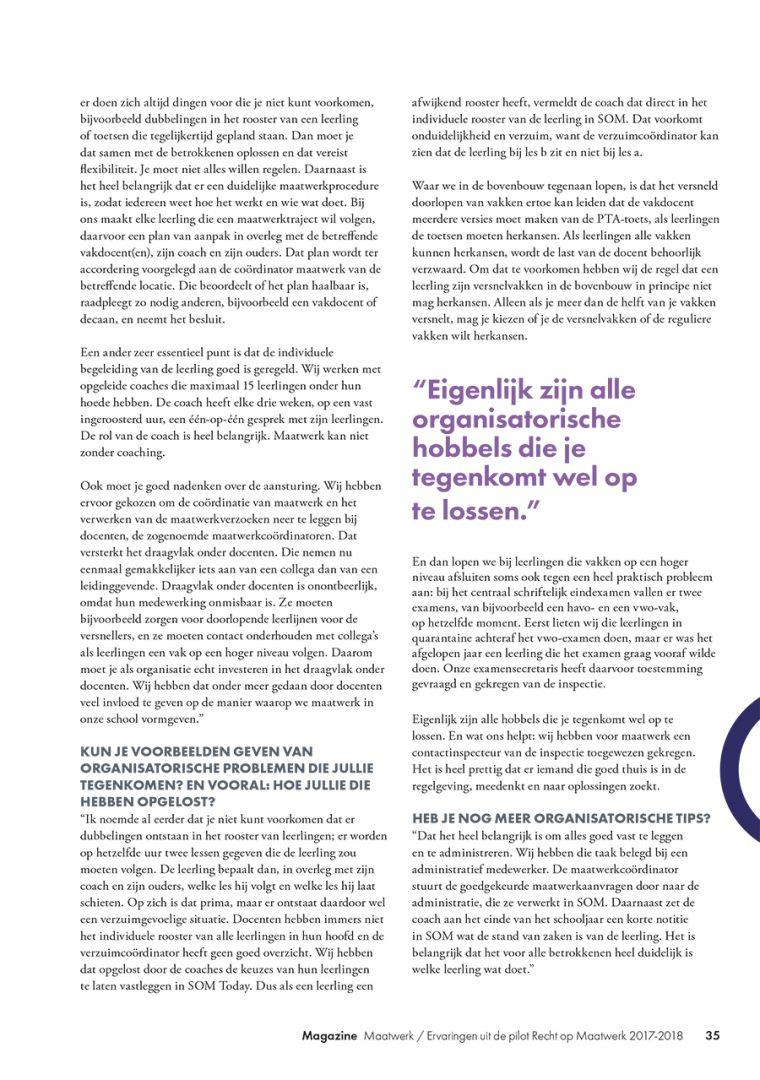 Maatwerk Magazine